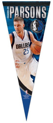 "Chandler Parsons ""Superstar"" Dallas Mavericks Premium Felt Collector's Pennant - Wincraft"