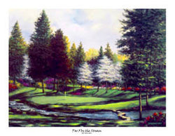 """Par 3 by the Stream"" (Furry Creek) - Bentley House 1994"
