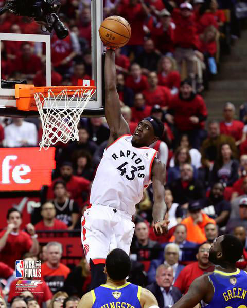 "Pascal Siakam ""Soaring High"" Toronto Raptors NBA Basketball Premium Poster Print - Photofile 16x20"