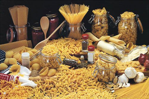Pasta Cornucopia Food Kitchen Poster - Eurographics Inc.