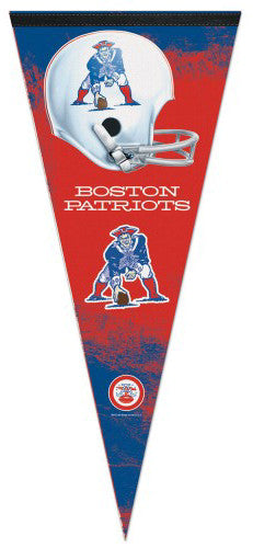 Boston Patriots AFL Throwback EXTRA-LARGE Premium Felt Pennant