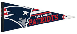 New England Patriots Official NFL Football Premium Felt Collector's Pennant - Wincraft