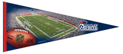New England Patriots Gameday EXTRA-LARGE Premium Felt Pennant - Wincraft