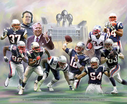"New England Patriots ""Patriot Perfection"" Poster Print by Wishum Gregory"