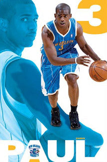 "Chris Paul ""Point"" New Orleans Hornets Poster - Costacos 2008"