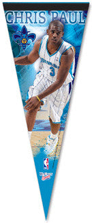 "Chris Paul ""Fleur de Lis"" Premium Collector's Pennant - Wincraft"