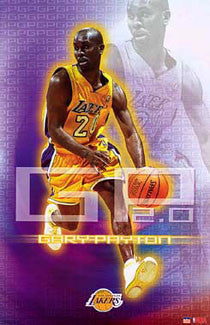 "Gary Payton ""GP 2.0"" L.A. Lakers Poster - Starline 2003"
