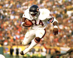 "Walter Payton ""Airborn"" (c.1979) Chicago Bears Premium Poster Print - Photofile Inc."