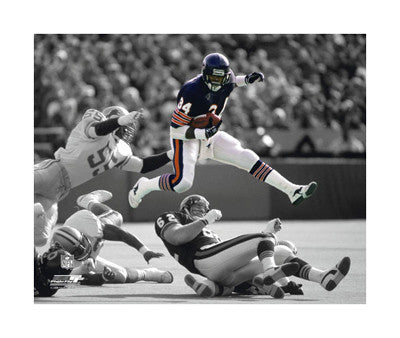 "Walter Payton ""Work of Art"" (c.1986) Giclee-on-Canvas - Photofile"
