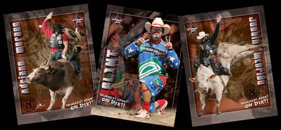 Professional Bull Riders Three-Poster Combo - Time Factory