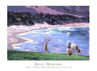 """Pebble Beach National Pro-Am"" (Scott Medlock) - McGaw 2002"