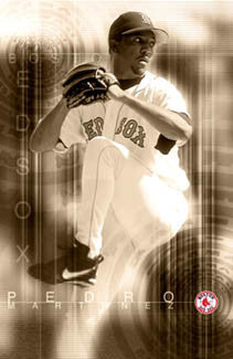 "Pedro Martinez ""Red Sox Classic"" (2001) Poster - Costacos Sports"