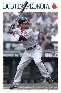 "Dustin Pedroia ""Superstar"" Boston Red Sox MLB Poster - Costacos Sports"