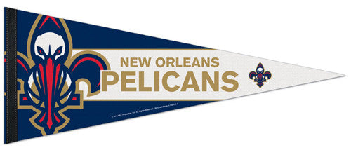 New Orleans Pelicans Official NBA Basketball Premium Felt Collector's Pennant - Wincraft Inc.