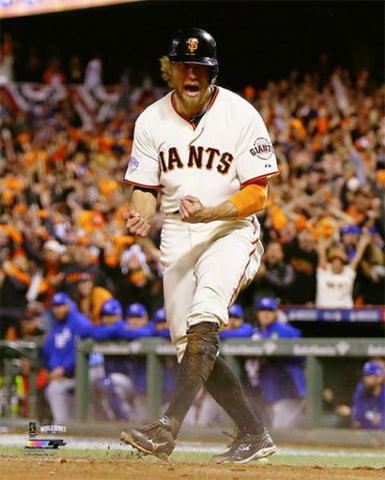 "Hunter Pence ""Passion"" (2014 World Series) Premium Poster - Photofile 16x20"