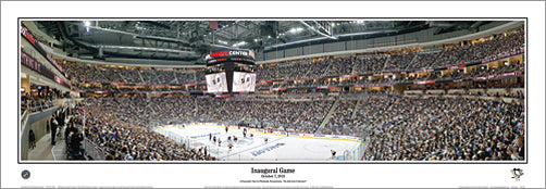 Pittsburgh Penguins Consol Energy Center Inaugural Game Panorama (2010) - Everlasting