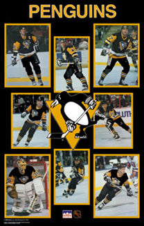 "Pittsburgh Penguins ""Superstars '89"" Poster - Starline Inc."