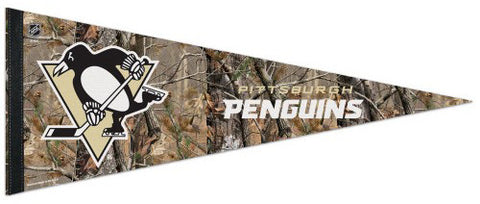 "Pittsburgh Penguins ""Backwoods"" Premium Felt Pennant - Wincraft"