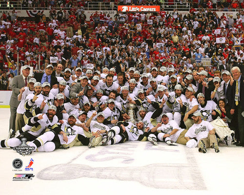 "Pittsburgh Penguins 2009 Stanley Cup ""Celebration on Ice"" Premium Poster Print - Photofile Inc."