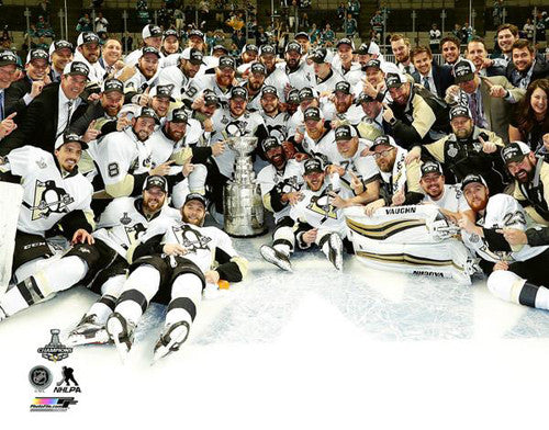 "Pittsburgh Penguins 2016 Stanley Cup ""Celebration on Ice"" Premium Poster Print - Photofile Inc."