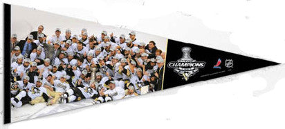 Pittsburgh Penguins 2009 Stanley Cup CELEBRATION 17x40 Premium Pennant