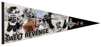 "Pittsburgh Penguins ""Sweet Revenge"" EXTRA-LARGE Premium Pennant"