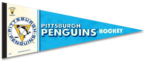 "Pittsburgh Penguins ""Vintage Hockey"" (1967-68) Premium Pennant"