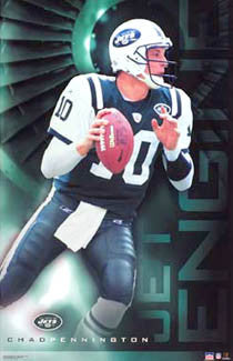 "Chad Pennington ""Jet Engine"" - Starline 2003"