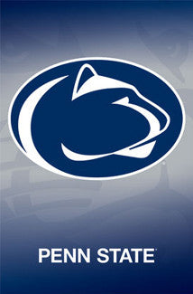 Penn State Nittany Lions Official NCAA Team Logo Poster - Costacos Sports