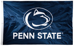 Penn State Nittany Lions Official NCAA Premium Nylon Applique 3'x5' Flag - BSI Products Inc.