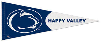"Penn State Nittany Lions ""Happy Valley"" Premium Felt Pennant"