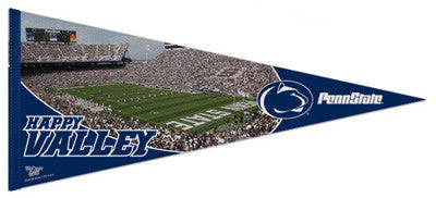 "Penn State Football ""Happy Valley"" XL Premium Felt Pennant - Wincraft"