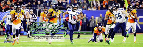 "Percy Harvin ""The Return"" (Super Bowl XLVIII) Premium Photoramic Poster Print - Photofile Inc."