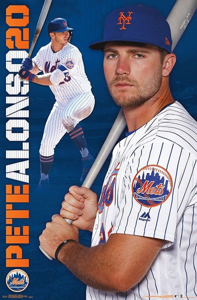 "Pete Alonso ""Superstar"" New York Mets Official MLB Baseball Poster - Trends International"