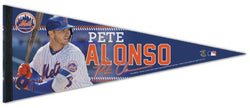 Pete Alonso New York Mets MLB Signature Series Premium Felt Commemorative Pennant - Wincraft 2019