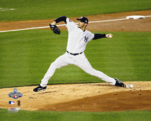 Andy Pettitte New York Yankees 2009 World Series Game 6 Action Poster Print - Photofile 16x20