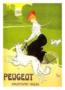 "Peugeot Bicycles ""Valentigney-Doubs"" (c.1900) - Clouets"