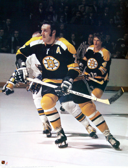 Phil Esposito Boston Bruins Portnoy Collection NHL Action Poster - Sports Posters Inc. 1973