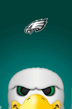 "Philadelphia Eagles ""Swoop Style"" NFL Team Theme Art Poster - S. Preston/Trends Int'l."