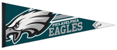 Philadelphia Eagles NFL Football Team Logo-Style Premium Felt Collector's Pennant - Wincraft Inc.