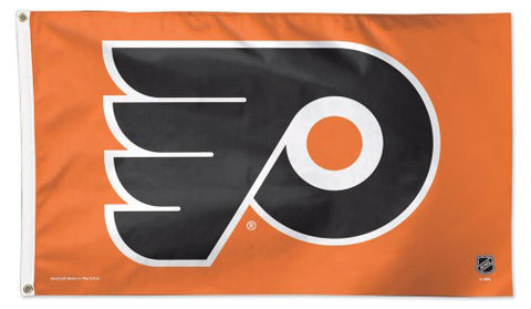 Philadelphia Flyers Official NHL Hockey 3'x5' DELUXE-EDITION Premium Team Flag - Wincraft Inc.