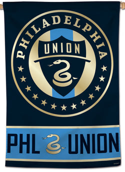 Philadelphia Union Official MLS Soccer Team Logo Wall BANNER - Wincraft Inc.