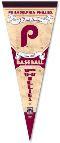 "Philadelphia Phillies ""Since 1883"" Cooperstown Pennant - Wincraft Inc."