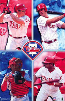 "Philadelphia Phillies ""Superstars"" - Starline 2001"