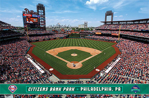 Citizens Bank Park Philadelphia Phillies Gameday Official MLB Wall Poster - Trends Int'l.