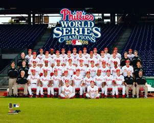 Philadelphia Phillies World Champs 2008 Team Photo - Photofile 16x20