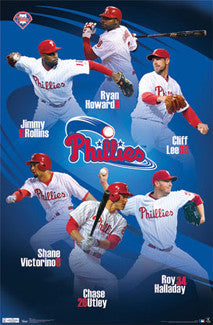 "Philadelphia Phillies ""Super Six"" (2011) - Costacos Sports"