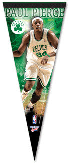 "Paul Pierce ""Superstar"" Premium Collector's Pennant - Wincraft Inc."