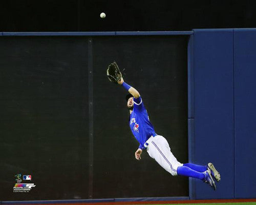 "Kevin Pillar ""Superman"" (2016) Toronto Blue Jays Premium Poster Print - Photofile 16x20"