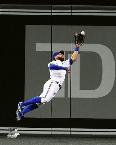 "Kevin Pillar ""Routine Grab"" Toronto Blue Jays Premium MLB Poster Print - Photofile 16x20"